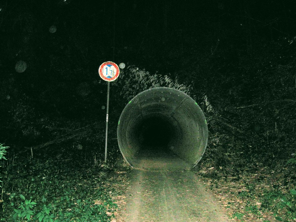 岩谷隧道(東側)